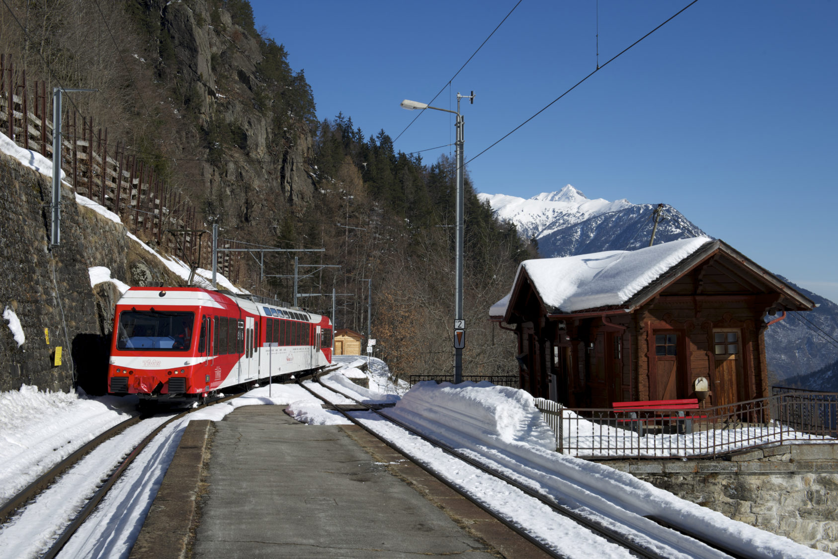 Mont-Blanc Express hiver